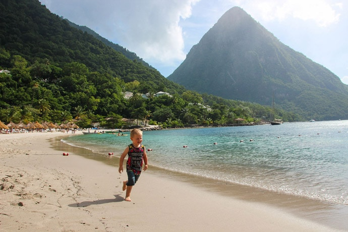 how to see st lucia in a day from a cruise